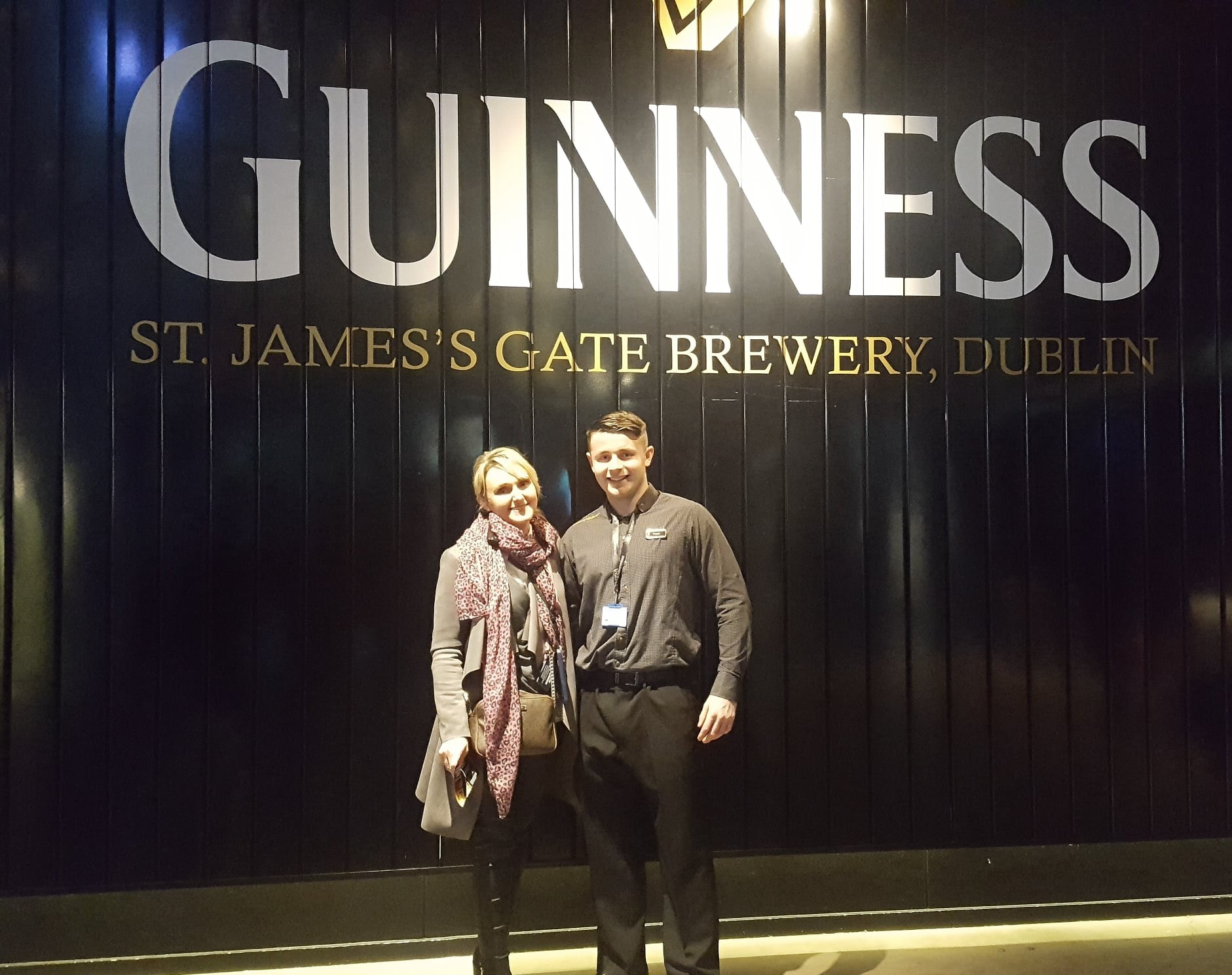 Frankie Farrell overcame his learning difficulties to become a tour guide at Guinness Storehouse